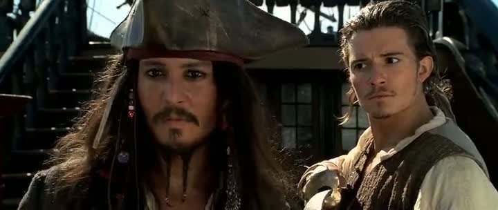 Single Resumable Download Link For Hollywood Movie Pirates of the Caribbean 1 (2003) In  Dual Audio