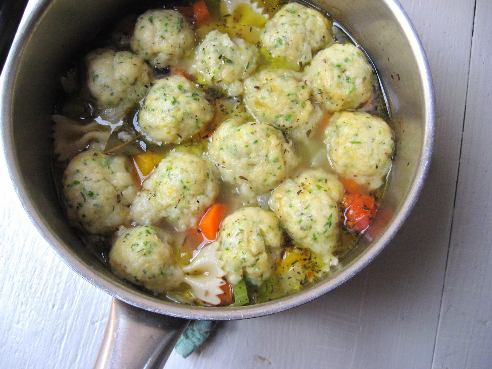 she's in the kitchen: rich chicken-vegetable soup with ...