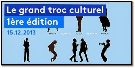 Le Grand Troc Culturel au 104 télérama CentQuatre Paris