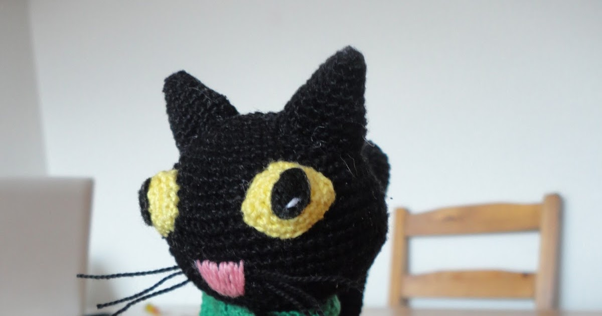 Amigurumi Gato Negro : La sombra del gato: un gato muy especial