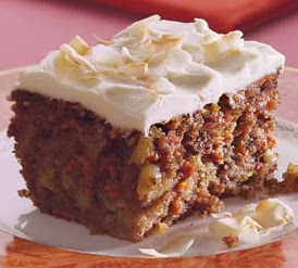 Healthy Carrot Cake with Crushed Pineapple and more of the best carrot cake recipes on MyNaturalFamily.com #carrotcake #recipe