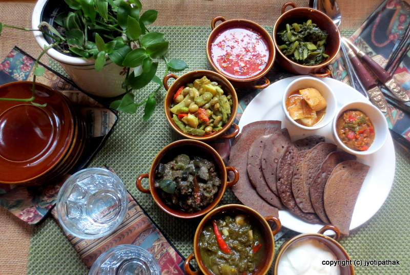 Taste of nepal october 2015 buckwheat bread phaapar ko roti m4hsunfo