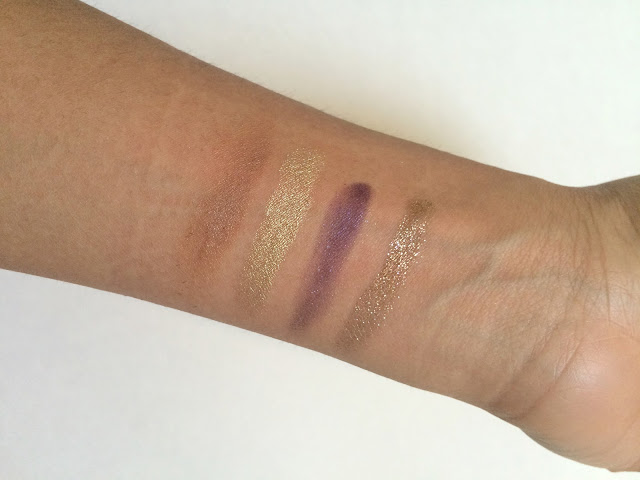 Swatches of Colourpop Cosmetics Eyeshadows
