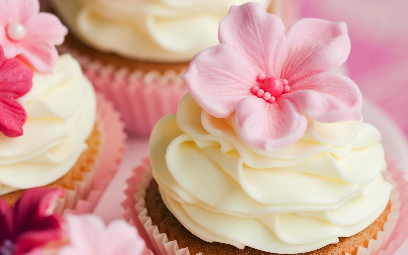 Flower Sweet Cupcakes
