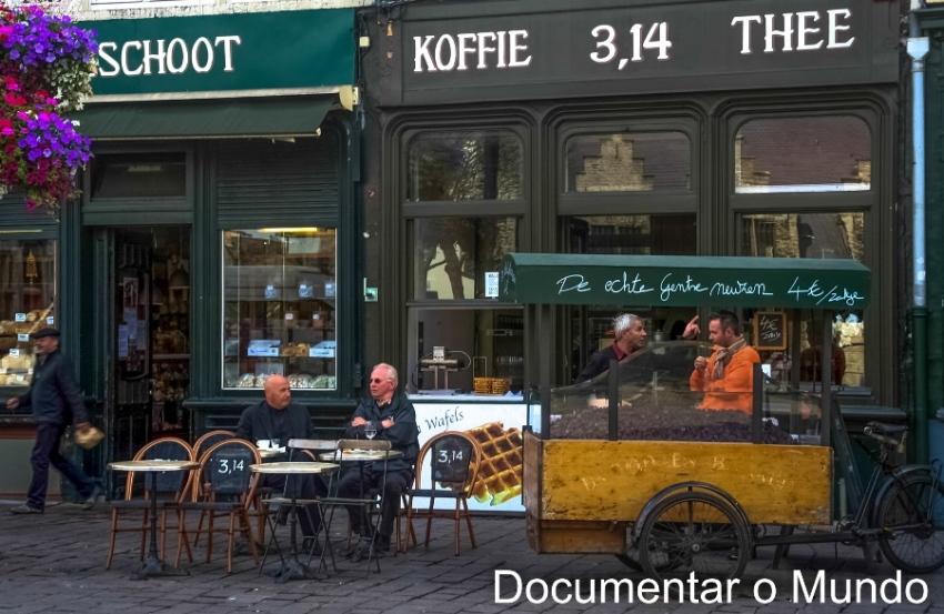 Groentenmarkt; Casa da Carne; Vlesshuis; Nariz de Gent; nose of Gent