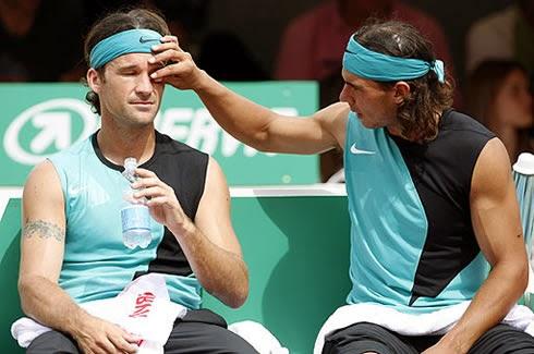smešne slike: tenis Nadal i Moja