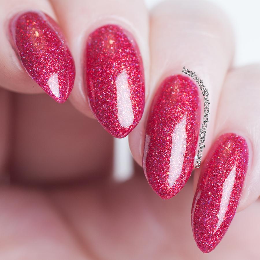 Moonstone Nail Polish Hysteria nail polish swatch