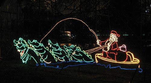 Lighted Christmas Yard Art