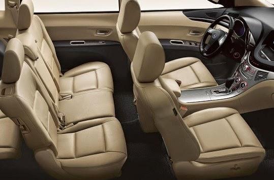 2015 Subaru Tribeca Interior