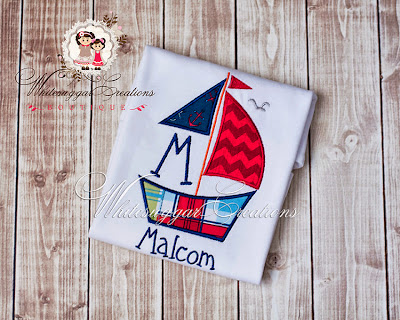 Nautical Monograms: Whitesuggar Creations