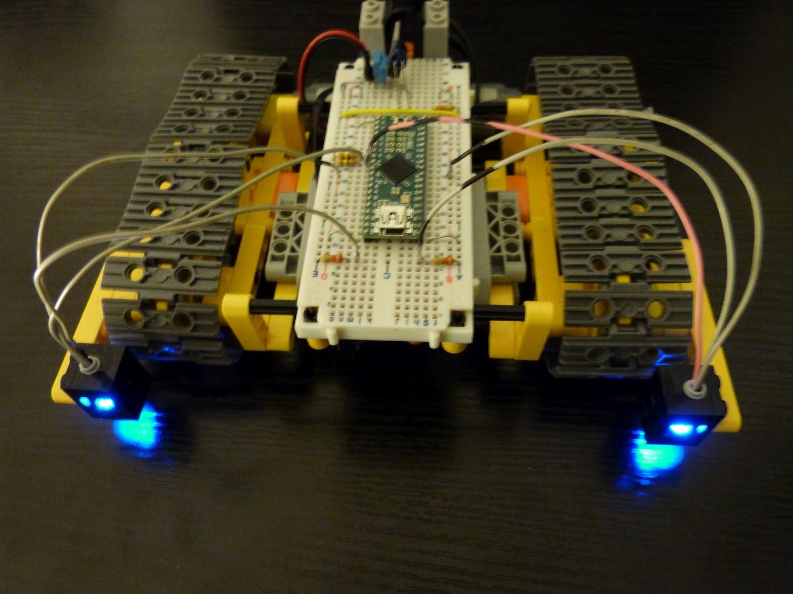 Relativ Artiom FEDOROV Blog: Robot suiveur de lignes a base du teensy  QK74