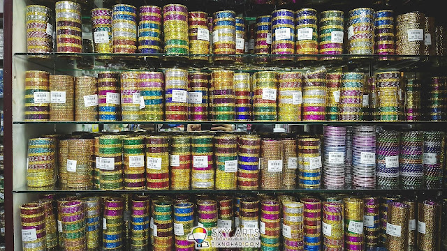 Colorful Indian bangles @ Little India Brickfields KL