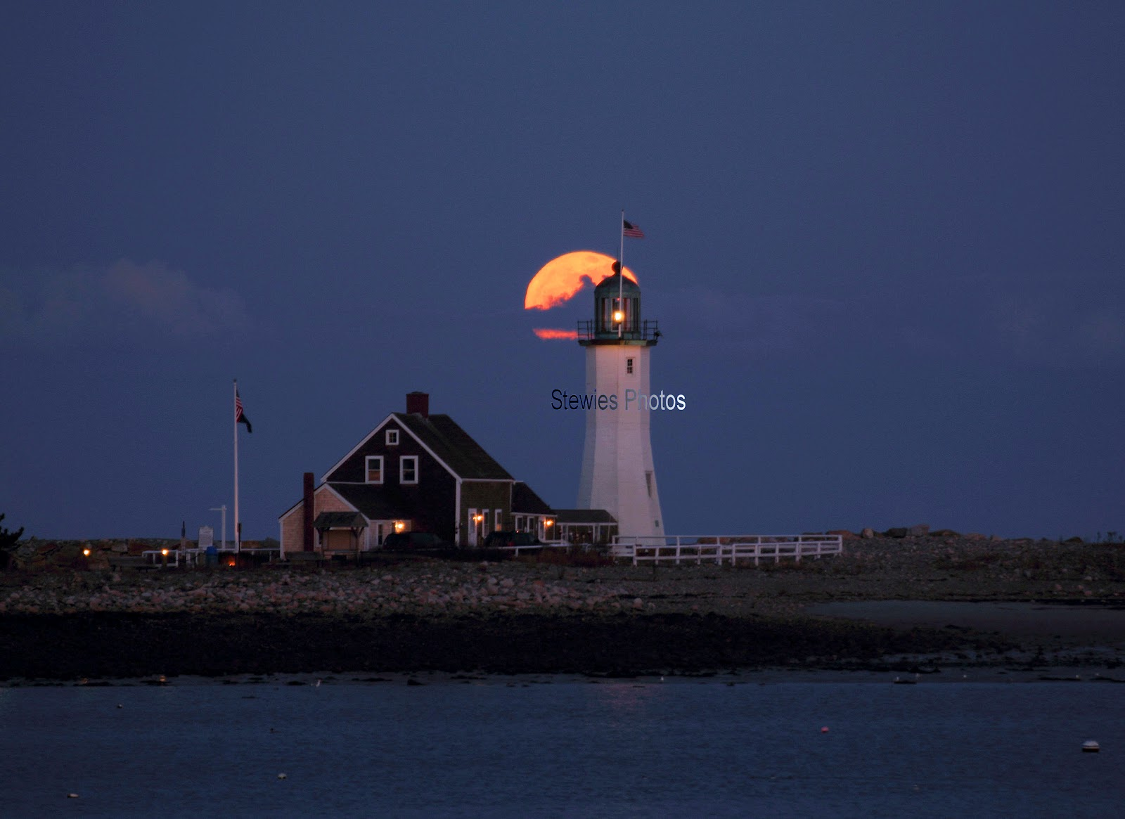 Brian Stewart Photography Scituate Snow Moon