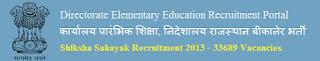 Rajasthan Shiksha Sahayak Employment News