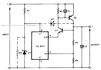 Positive Regulator Circuit Diagram