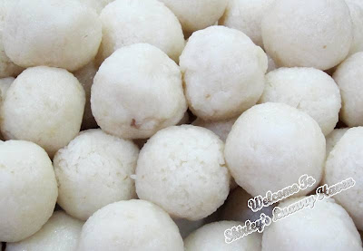 malacca hainanese chicken rice balls