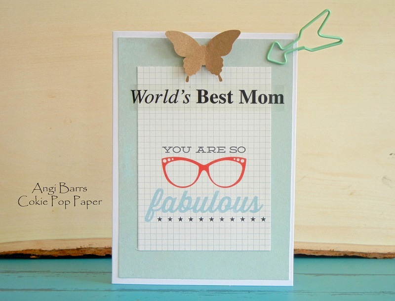 SRM Stickers Blog - Mother's Day Gift & Card by Angi - #mother #card #stickers