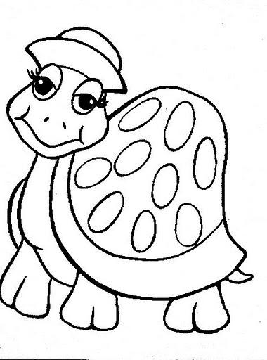 Maestra de Infantil: Tortugas terrestres y marinas. Dibujos para ...