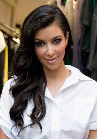 kim kardashian hair color. kim kardashian haircut long