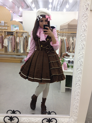 melty royal chocolate angelic pretty sweet lolita coordinate