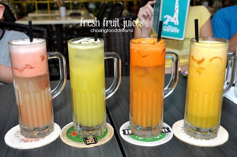 ... ice teas, lemonades, fruit juices, smoothies, milk shakes and more