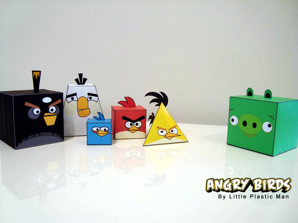 Paper Angry Birds Printables