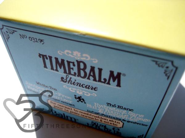 theBalm TimeBalm Skincare White Tea Juniper Oil-Free Face Moisturizer