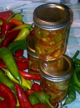 Pickled Hot Pepper Rings Recipe — Dishmaps