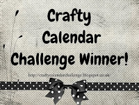 Winner at Crafty Calendar Challenge