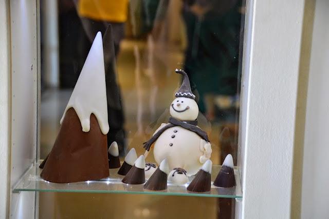 איש שלג שוקולד chocolate snow man