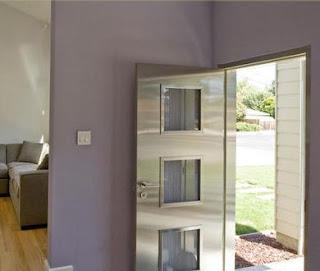 Fotos y dise os de puertas dise o de puertas de madera for Disenos puertas de madera exterior