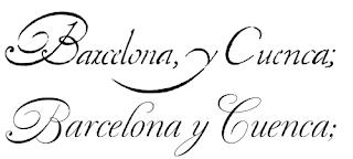 renaissance calligraphy alphabet