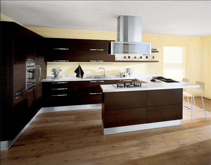 Stunning Colori Parete Cucina Moderna Contemporary - bakeroffroad ...