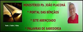 MINISTÉRIO PB. JOÃO PLACONÁ