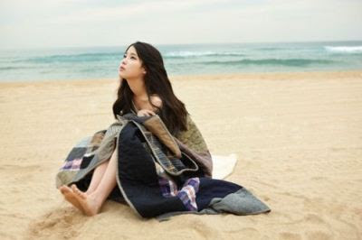 IU You and I concept photo beach