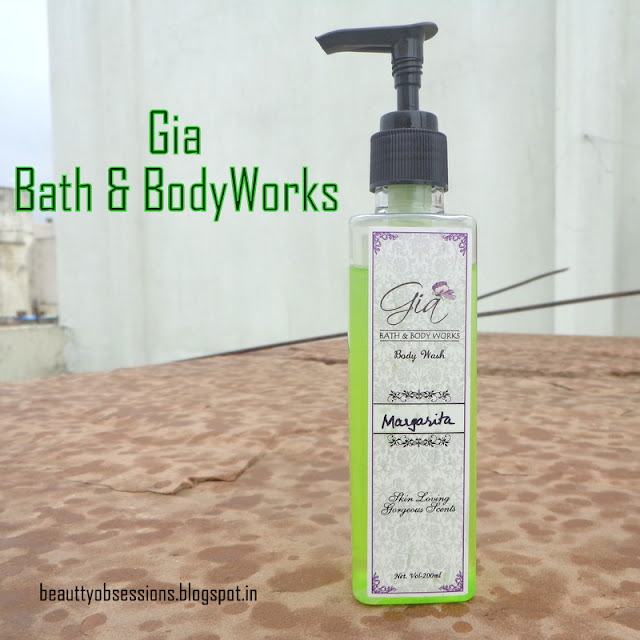 "Gia Bath & Body Works Shower Gel ""MARGARITA"" - Review & Price"