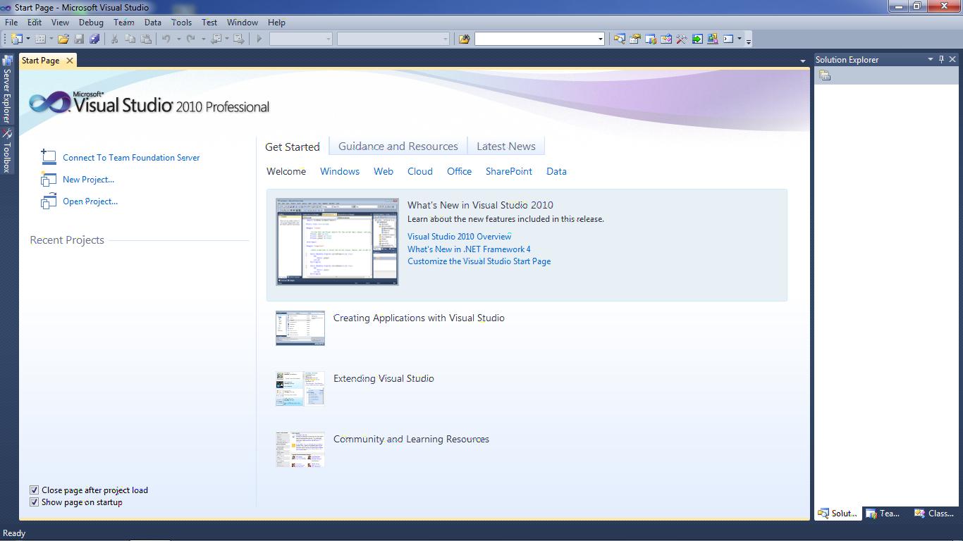Pengertian, Keistimewaan dan Sejarah Microsoft Visual Studio 2010