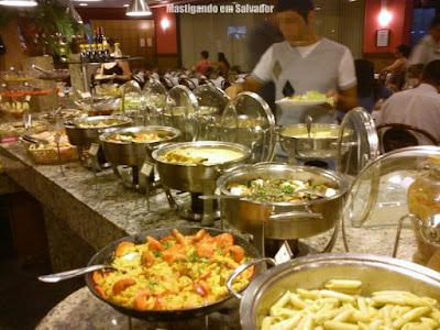 Rincão Grill: Buffet de Pratos Quentes