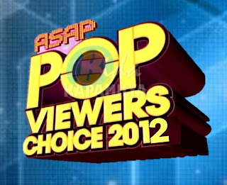 ASAP Pop Viewers' Choice Awards 2012 Nominees