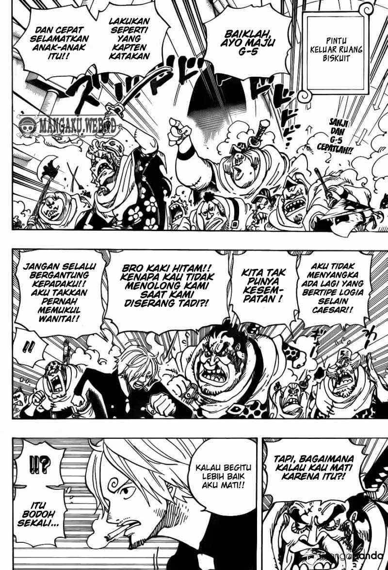 03 One Piece 687   Binatang Buas