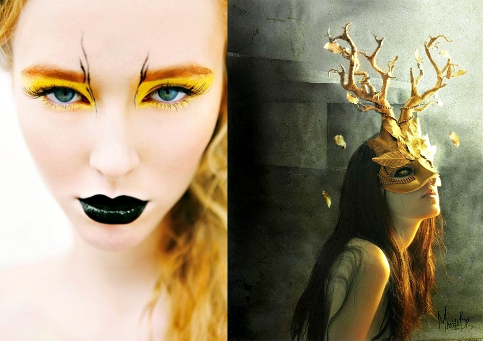 Pop Culture And Fashion Magic: Halloween costumes and - Makeup Mask Ideas