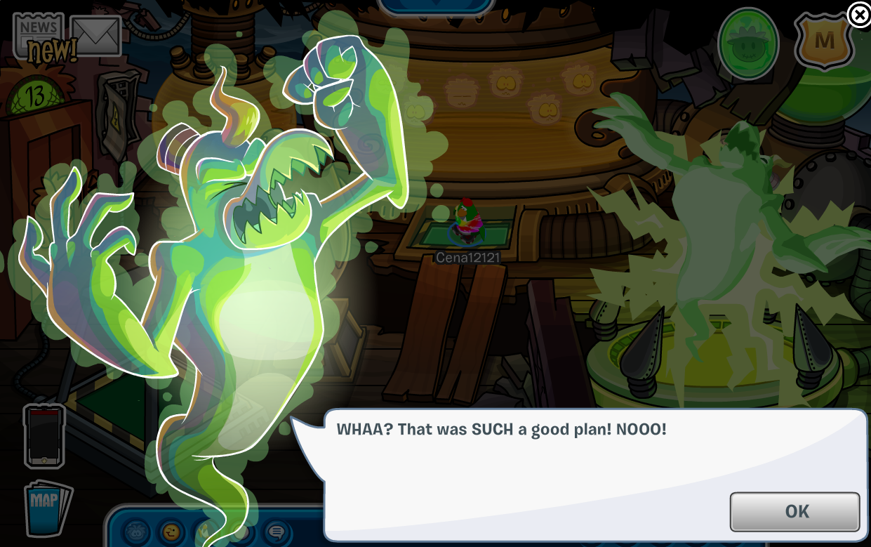 Club Penguin Halloween Party 2014 Quest Cheats
