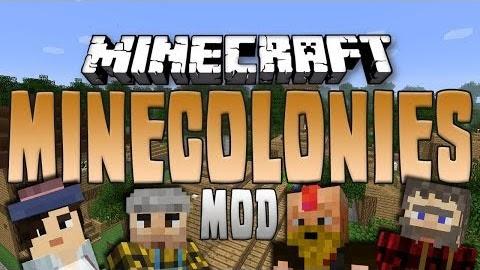MineColonies Mod