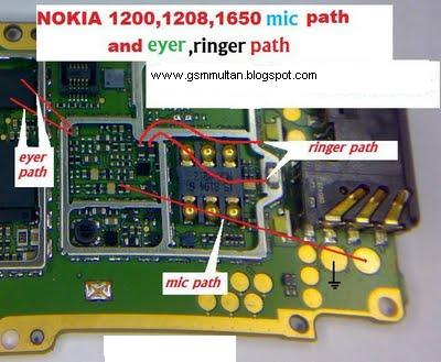 Nokia 1200 MIC SOLUTION