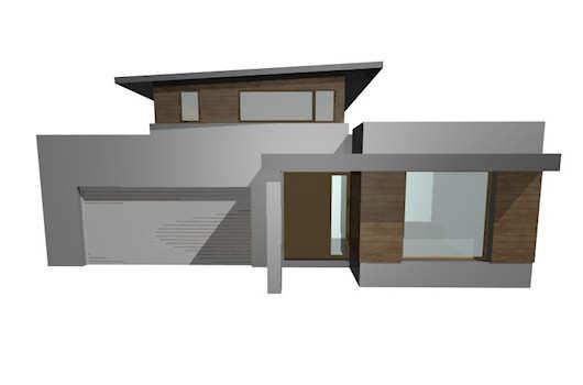 Plano de casa de dos pisos tres dormitorios y 326 metros for Dormitorio 9 metros cuadrados