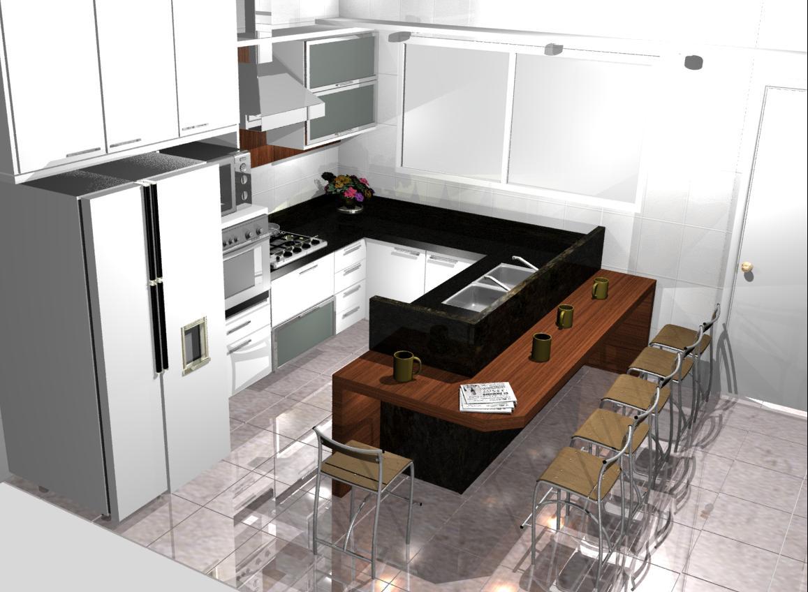 11) 8477 3234: cozinhas planejadas cozinhas simples pequenas modernas  #6C432D 1157 848