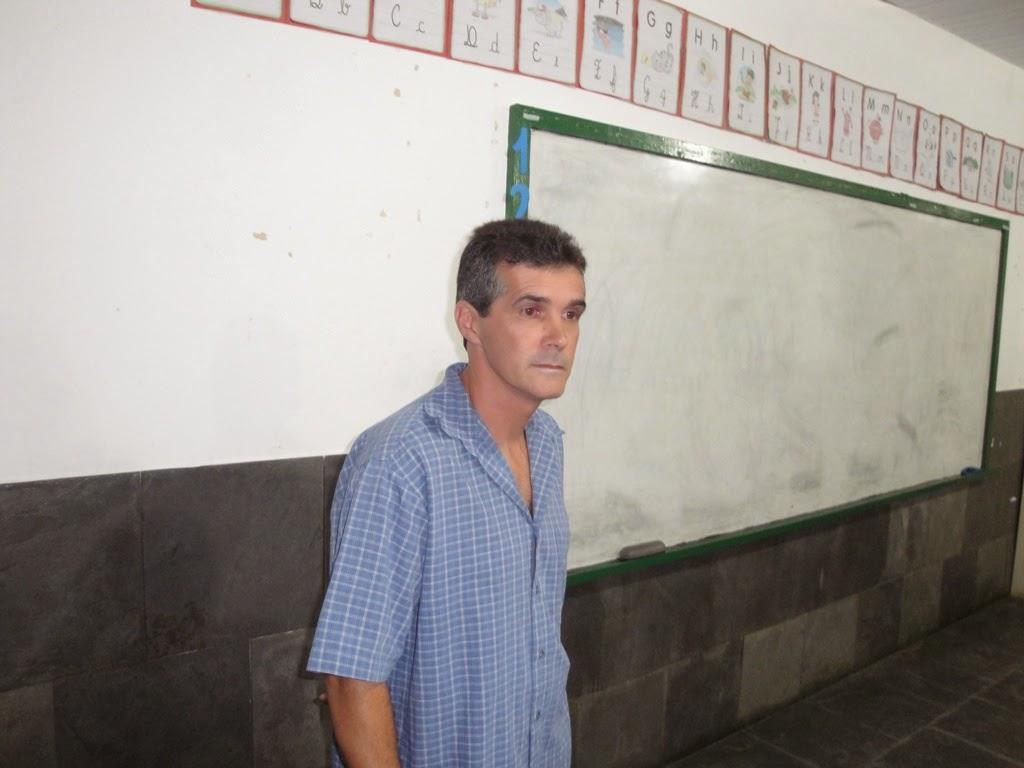 O presidente Benedito Gustavo, presidente da AMAPOSSE
