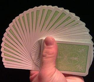trik sulap kartu amazing discovery,menebah kartu