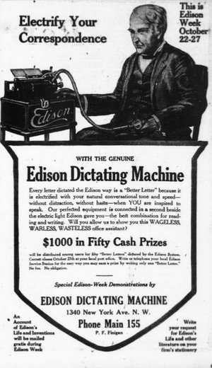 edison machine
