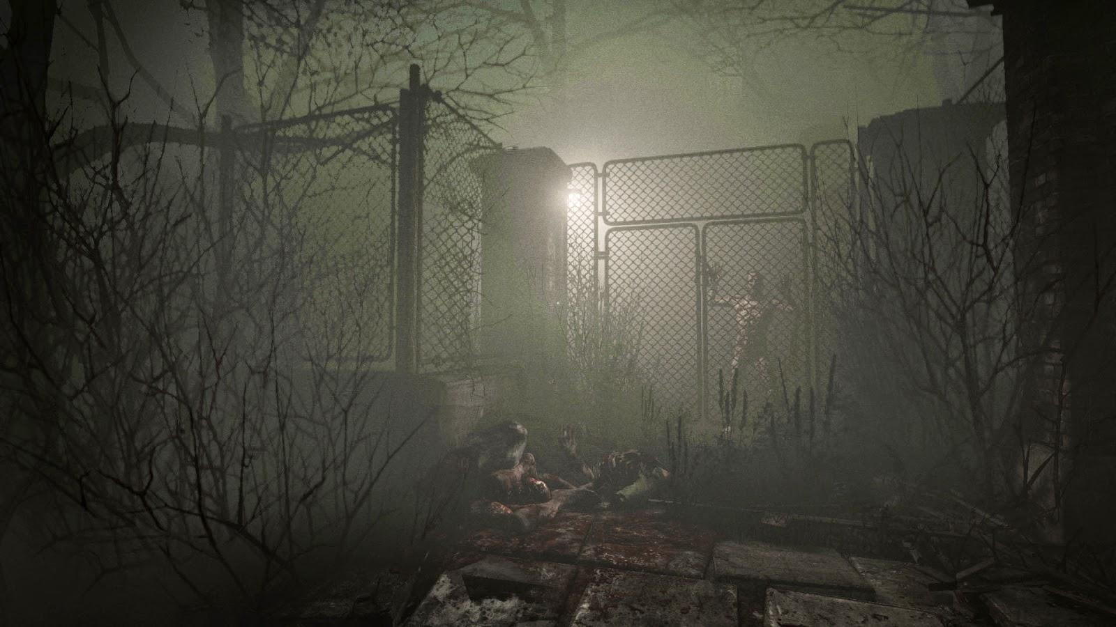 Outlast DLC Whistleblower Screenshot fog outside